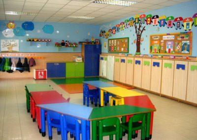 Instalaciones de la Escuela Infantil San Simón y San Judas - Clase edad 2-3 años