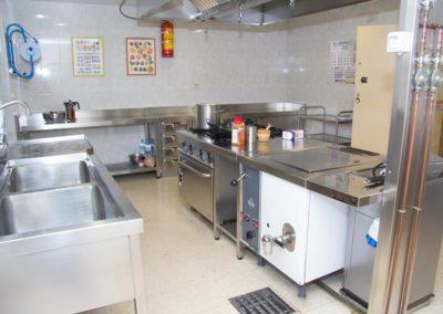 Instalaciones de la Escuela Infantil San Simón y San Judas -Cocina