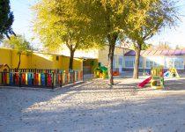 Patio de la Escuela San Simón y San Judás